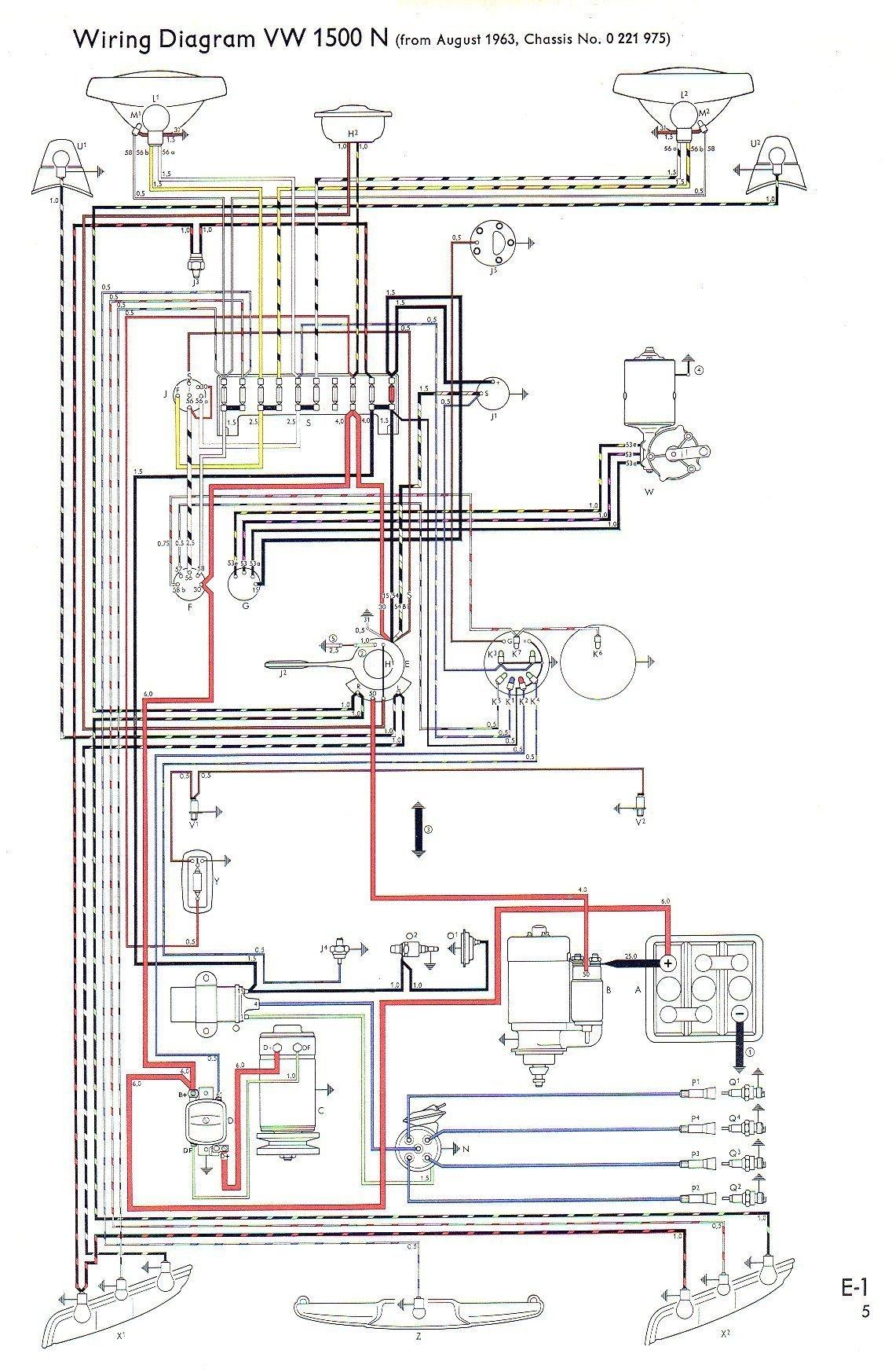 VW Type 3 Wiring DiagramsThe VW Type 3 & 4 Club