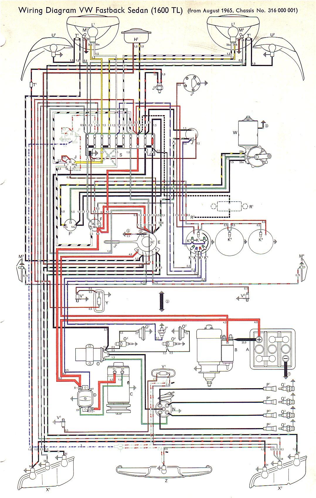 VW Type 40 Wiring Diagrams